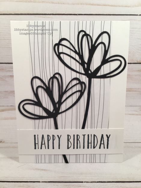 libbystamps, Stampin' Up!, Perennial Birthday, Sunshine Wishes Thinlits, Tropical Escape 6x6 DSP, CCMC